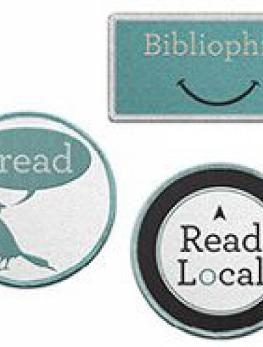 image of Read Local Iron-On Patches
