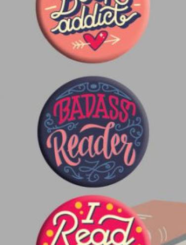 image of Rebel Reader Buttons