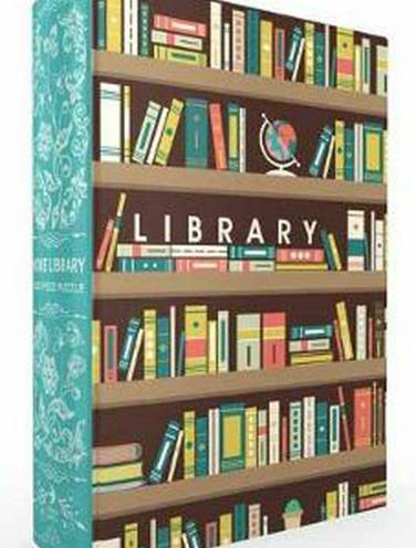 image of Home Library Book Box Puzzle