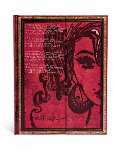 image of Amy Winehouse Tears Dry Ultra Lined Journal