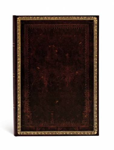 image of Black Moroccan Lined Journal