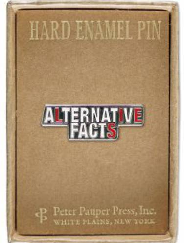 image of Alternative Facts Pin