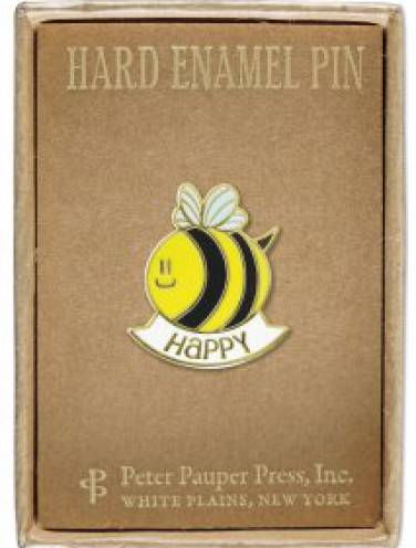 image of Bee Happy Pin