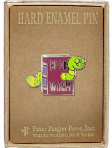 image of Bookworm Pin