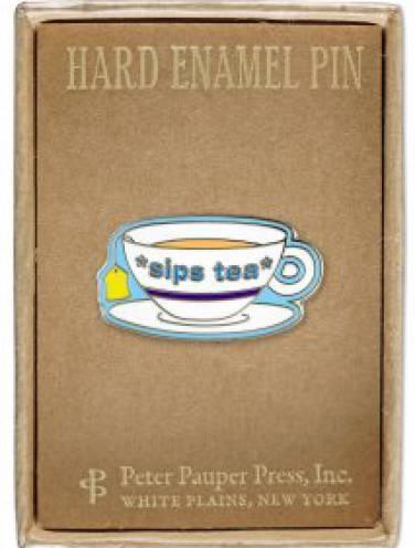 image of Sips Tea Pin