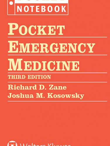 image of Pocket Emergency Medicine   -Binder *op