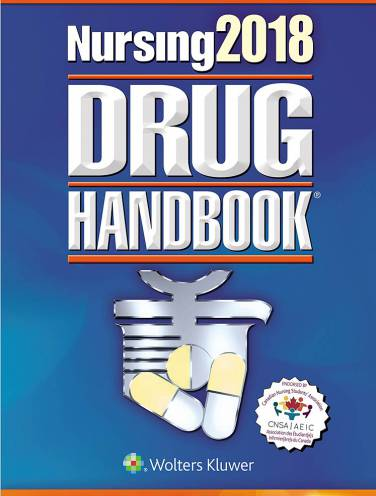 image of Nursing 2018 Drug Handbook  Canadian Edition 2018
