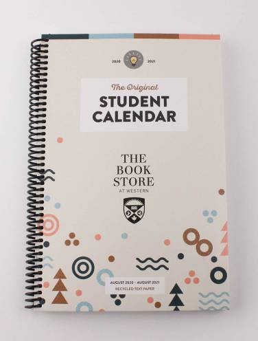 image of Original Student Calendar 2020-21