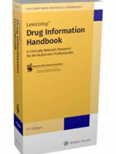 image of Drug Information Handbook 2018