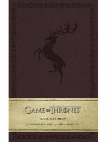 image of House Baratheon Ruled Journal