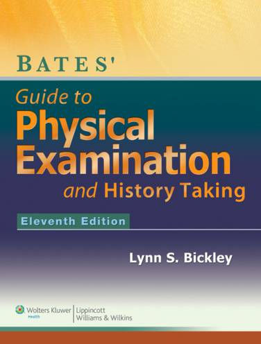 image of Bates Guide To Physical Examination And History Taking *op
