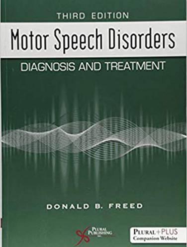 image of Motor Speech Disorders