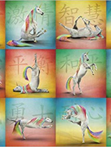 image of Unicorn Yoga Puzzle