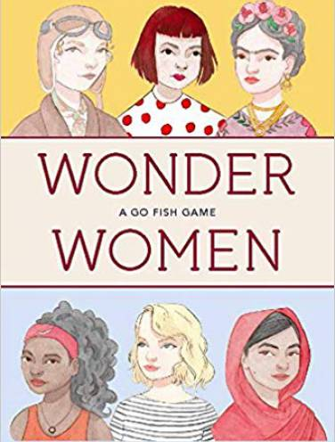 image of Wonder Women A Go Fish Game