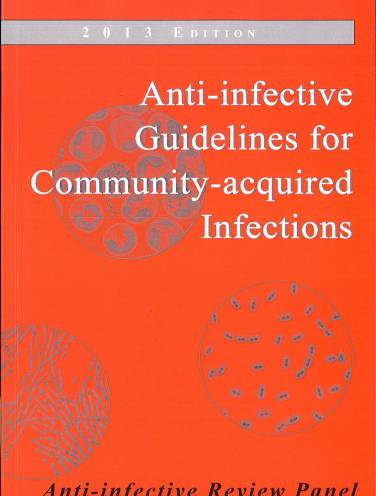 image of Anti Infective Guidelines For Community Acquired   2013