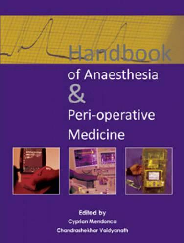 image of Handbook Of Anaesthesia And Perioperative Medicine