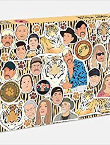 image of Tiger King 500 Piece Jigsaw Puzzle
