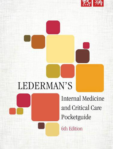 image of Ledermans Internal Medicine + Critical Care Pg