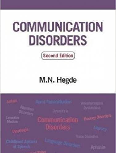 image of Hedges Pocket Guide To Communication Disorders