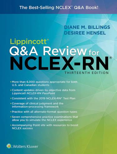 image of Lippincott Q&A Review For Nclex Rn