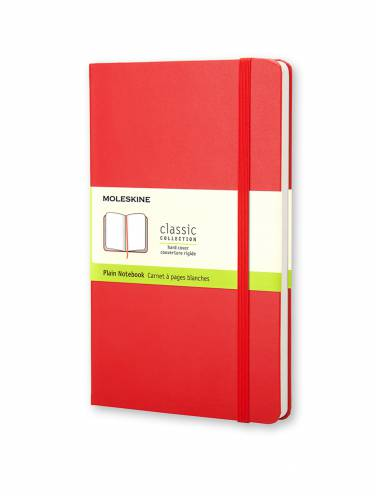 image of Plain Red Notebook Pocket