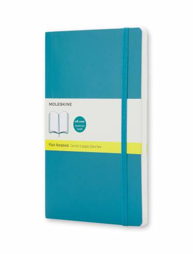 image of Notebook Plain Large Underwater Blue