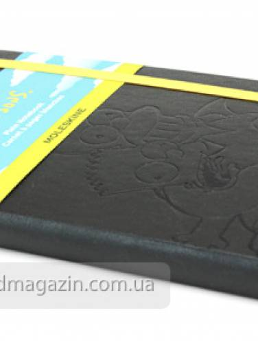 image of Simpsons Plain Notebook Large Black
