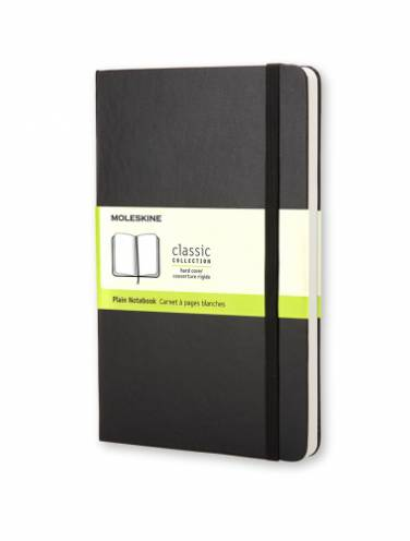 image of Black Pocket Plain Notebook