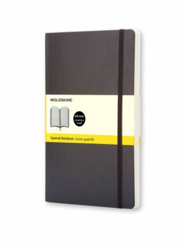 image of Notebook Large Black Squared