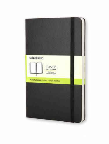image of Black Large Plain Notebook