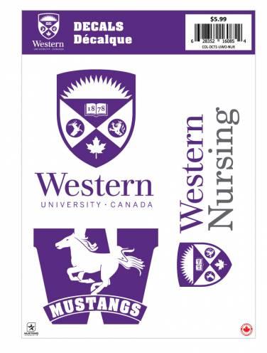 image of Western Nursing Decal Sheet