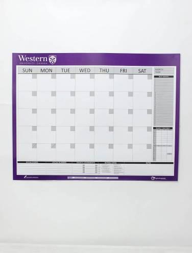 image of 1 & 4 Month Calendar Dry Erasable