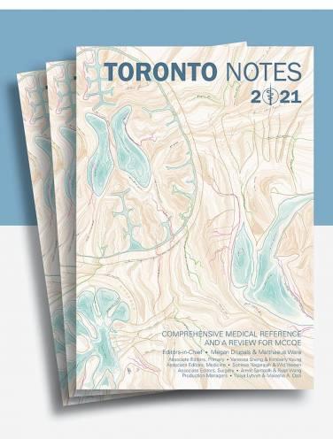image of Toronto Notes 2021